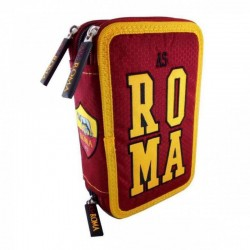 AS ROMA - ASTUCCIO 3 ZIP COMPLETO