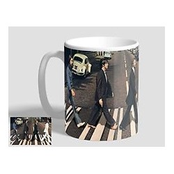 ROCK - TAZZA UFFICIALE THE BEATLES ABBEY ROAD